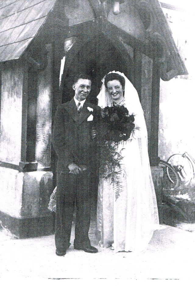 Mick and Molly's Wedding in 1944